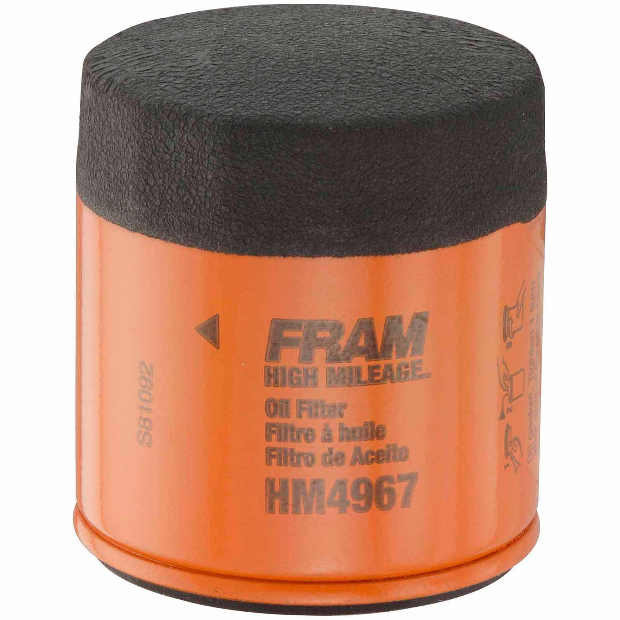 FRAM High Mileage Oil Filter, HM4967