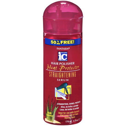 Fantasia Heat Protector Straightening Hair Polisher Serum, 6 oz