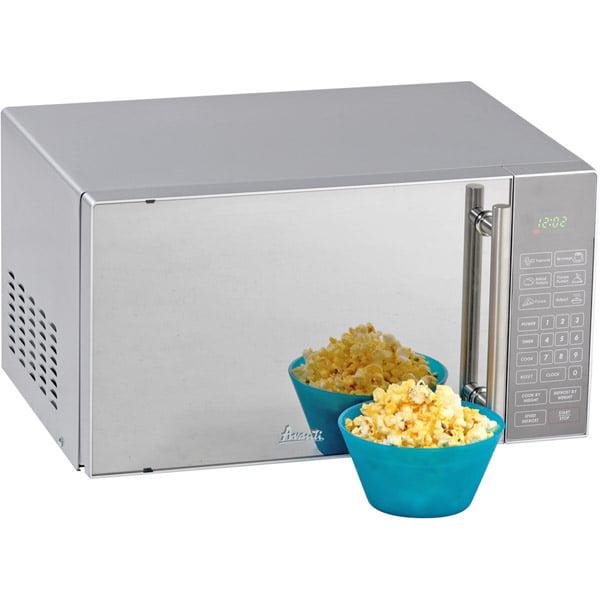 Avanti Mo8004mst 700-watt Counter Top Microwave Oven With Mirror Finish Door by Avanti