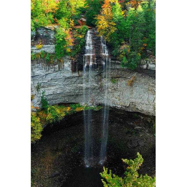 Fall Creek Falls Poster Print by Jerome Andrews - 13 x 18 in.