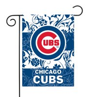 "Chicago Cubs Sparo 13"" x 18"" Double-Sided Garden Flag with Pole - No Size"