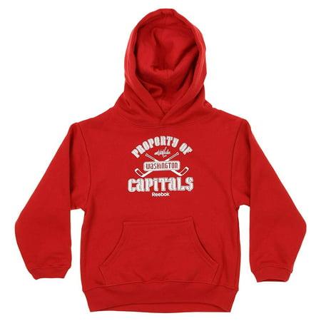 Reebok NHL Kids Washington Capitals Performance Logo Hoodie