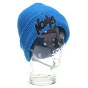 Nomis Team Floppy Ski Snowboard Beanie Bright Blue Mens