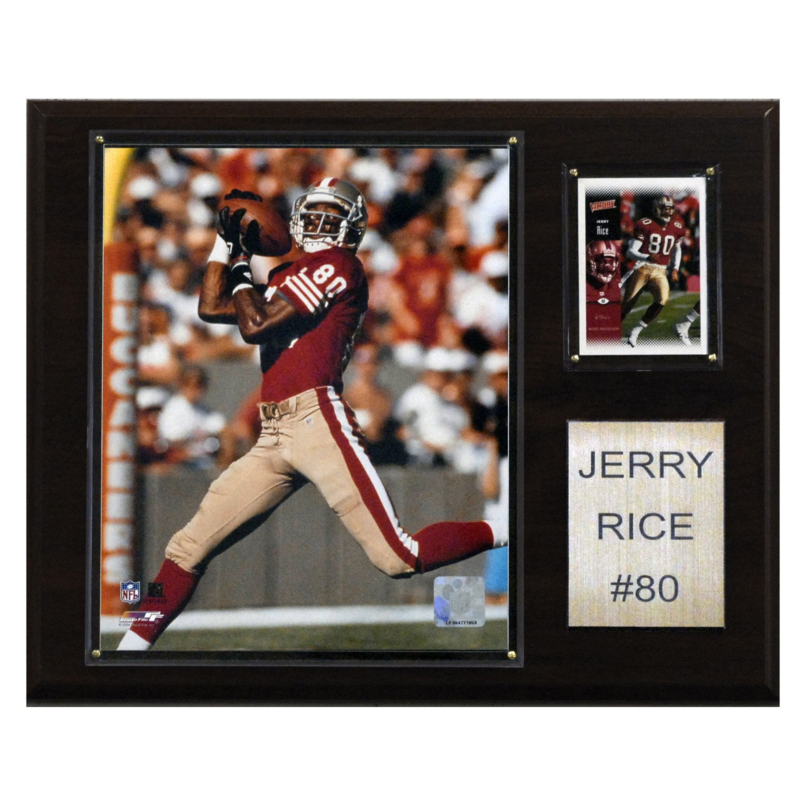 NFL 12 x 15 in. Jerry Rice San Francisco 49ers Player Plaque