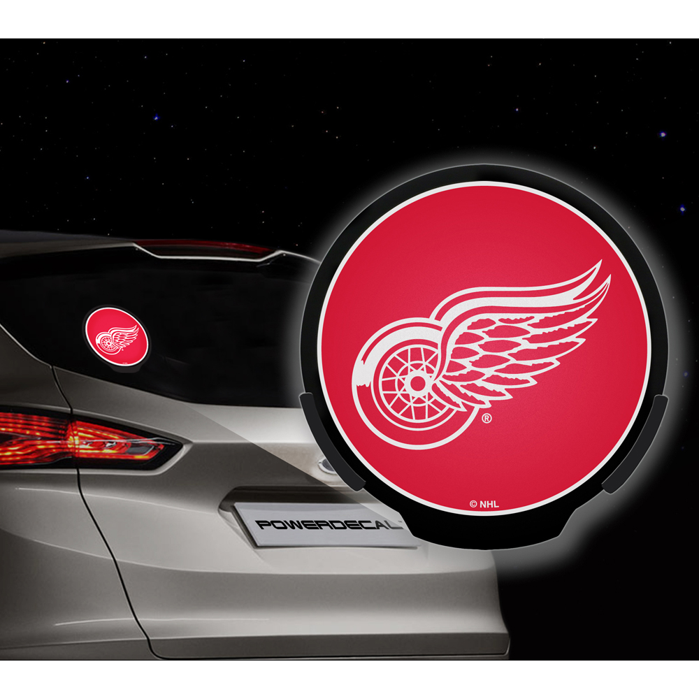 Detroit Red Wings NHL Power Decal