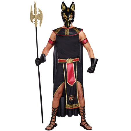 Anubis, God Of The Underworld Adult Costume](Tiki God Costume)