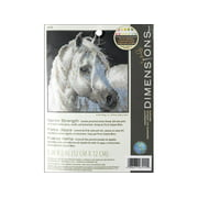 Dimensions Cross Stitch Kit 5x5 Gentle Strength