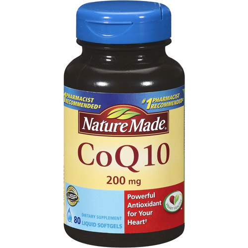 Nature Made CoQ10 Liquid Softgels, 80ct