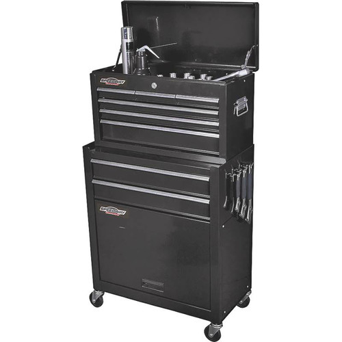 SPEEDWAY 24'' Wide 2 Drawer Tool Chest/Cabinet Combo