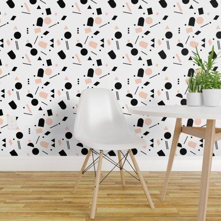 Peel and Stick Removable Wallpaper Granite Geo Geometric Shapes Minima