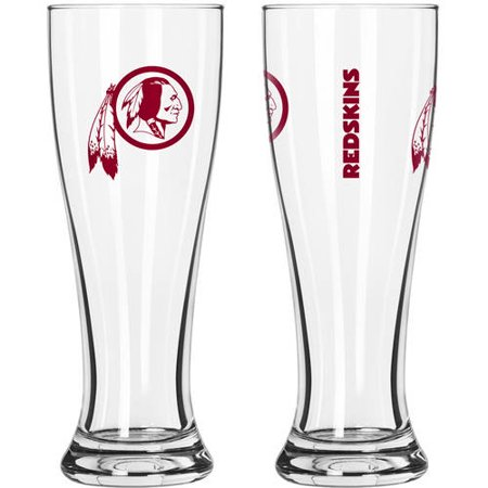 Washington Set - Boelter Brands NFL Washington Redskins 2-Pack Gameday Pilsner Set