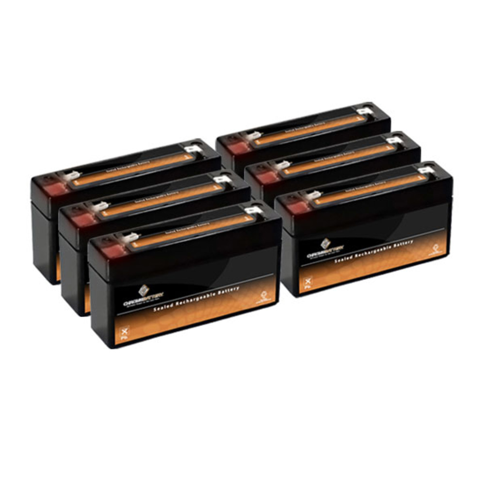 6V 3.4AH SLA Battery replaces ub634 - 6PK