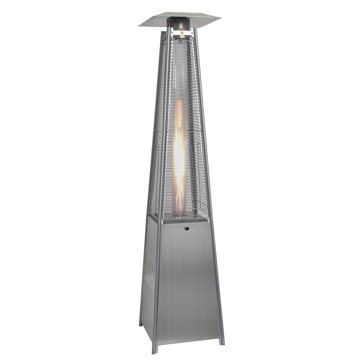 Bon Pyramid Standing Outdoor Patio Heater Deck Natural Gas Propane LP New