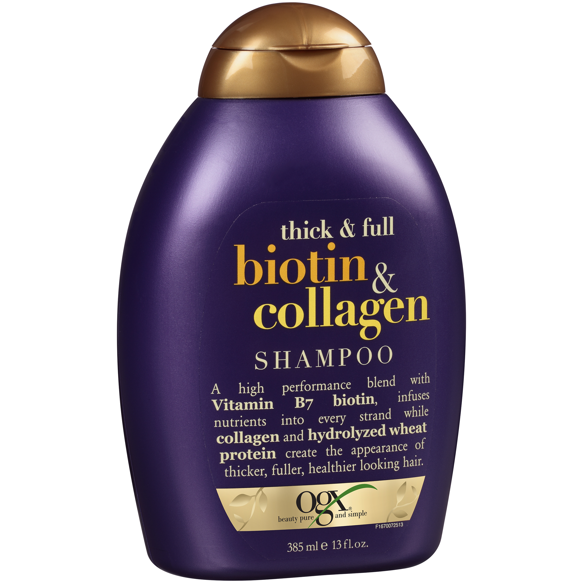 Ogx�� Thick & Full Biotin & Collagen Shampoo 13 fl. oz. Squeeze Bottle