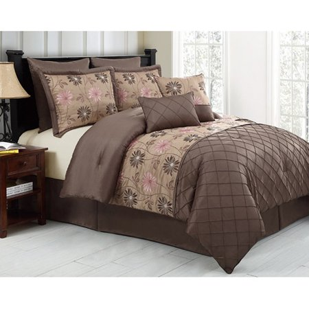 DISCONTINUED VCNY Home Maxine 8 Piece Bedding Comforter Set