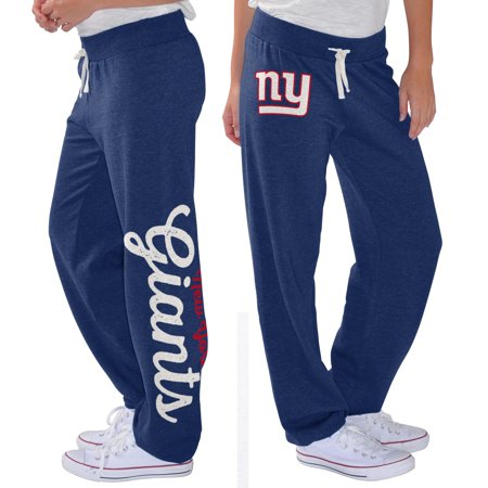 New York Giants G-III 4Her by Carl Banks Women's Scrimmage Fleece Pants - Royal (Cowboy Pants)