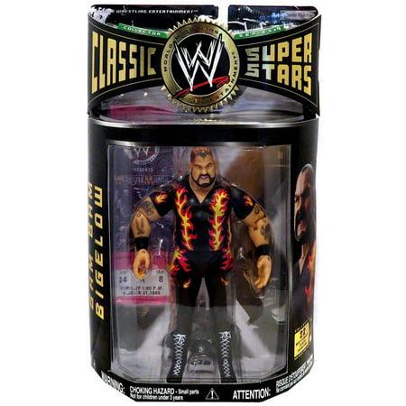 Bam Bam Flintstone (WWE Wrestling Classic Superstars Series 9 Bam Bam Bigelow Action)