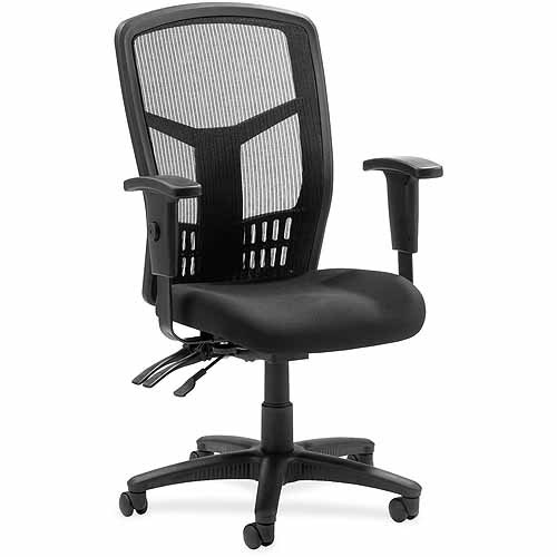Lorell 86000 Series Mesh Back Chair, Black