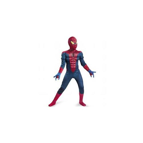 Disguise The Amazing Spider-Man Classic Muscle Chest Child Costume 10 - 12