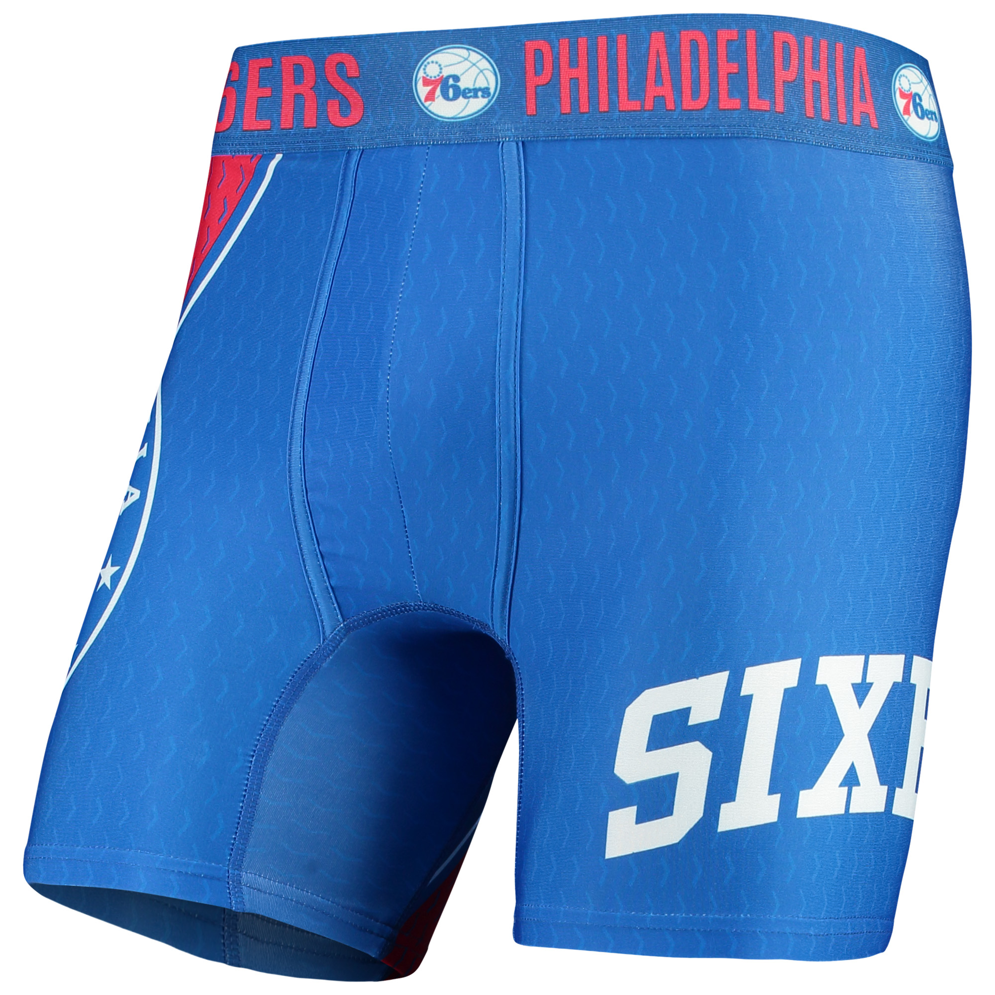 Philadelphia 76ers Concepts Sport Adorn Boxer Briefs - Royal