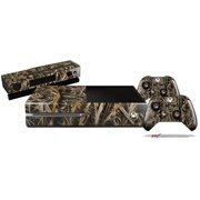 WraptorCamo Grassy Marsh Camo - Skin Bundle Decal Style Skin fits XBOX One Console Original, Kinect and 2 Controllers (XBOX SYSTEM NOT INCLUDED)