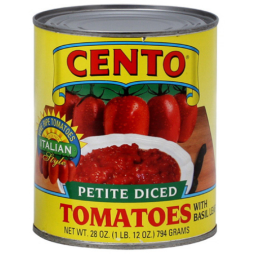 Cento Petite Diced Tomatoes, 28 oz (Pack of 12)