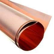 """99.9% Pure Copper Cu Metal Sheet Foil 0.1X7.9X19.7"""" 0.1 x 200 x 500MM"""