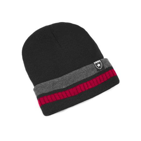 Men beanie hat Knitted cap plus velvet cap winter outdoor ski warm head cap - Mets Winter Hat