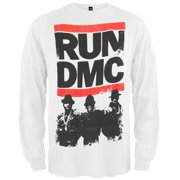 Run DMC - Photo Logo Long Sleeve T-Shirt - Large