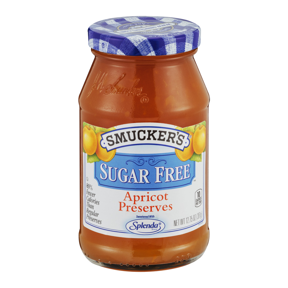 Smucker's Apricot Preserves Sugar Free, 12.75 OZ