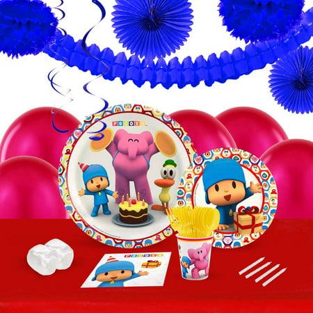 Pocoyo 16-Guest Tableware and Decoration Kit](Feliz Halloween Pocoyo)