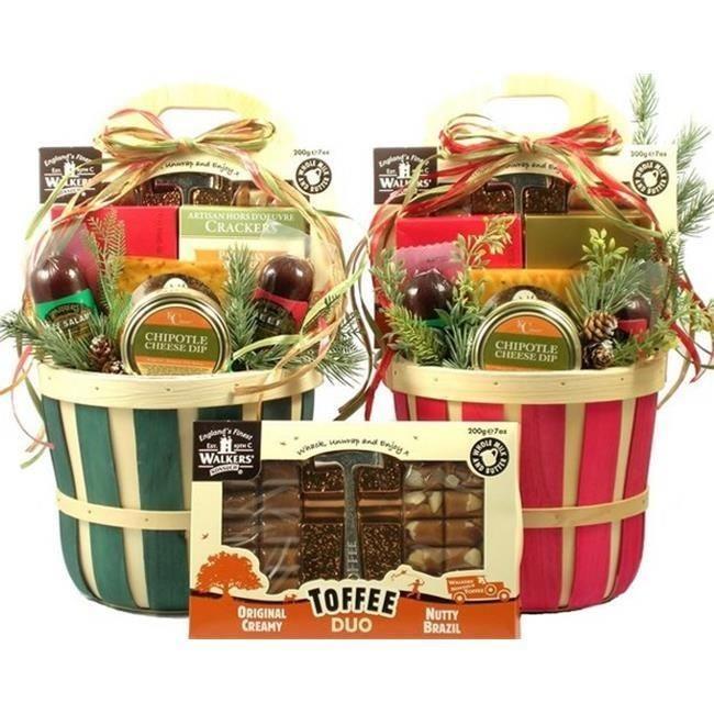 Gift Basket Drop Shipping FeFa-Lg Festive Favorites, Holiday Gift Basket