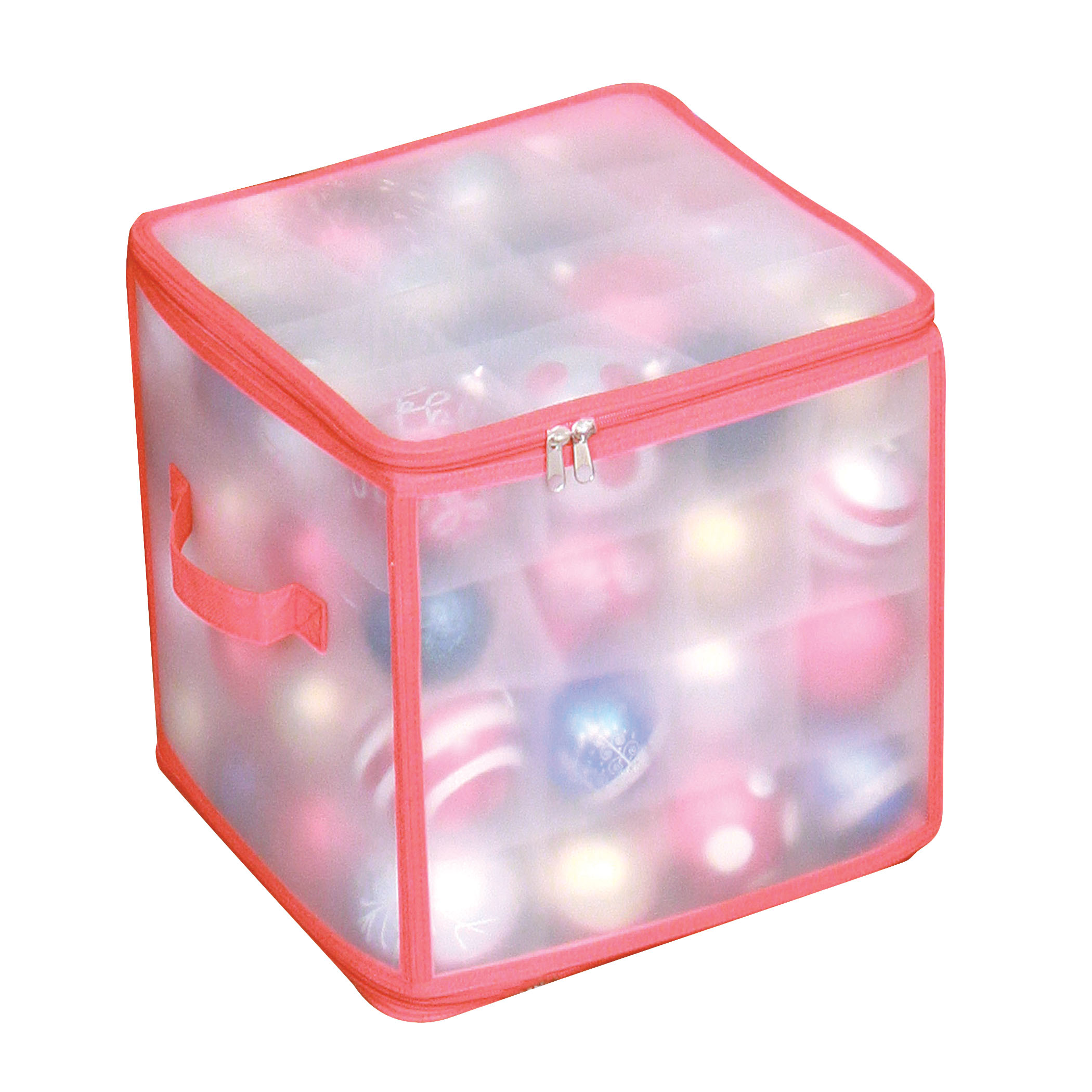 HOLIDAY/FROSTED 64 Cell Ornament Chest