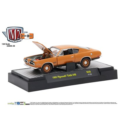 M2 Machines 1:64 Detroit Muscle Release 39 1969 Plymouth Cuda