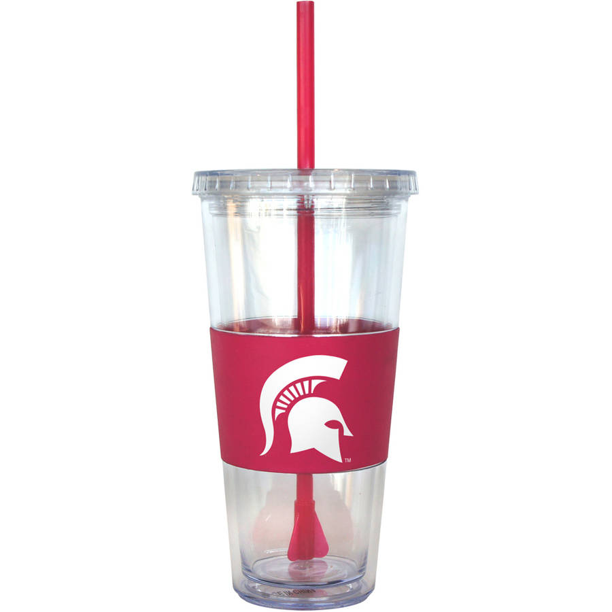 Michigan State University 22oz Tumbler with Straw
