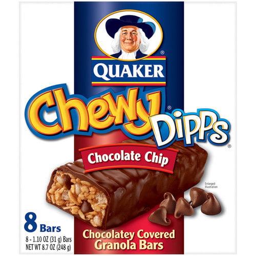 UPC 030000095904 - Chewy Dipps Granola Bars, Chocolatey ... Quaker Chewy Granola Bars Barcode