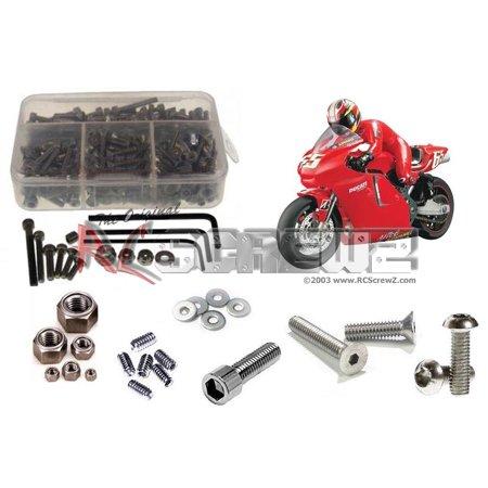 Thunder Tiger Set Screw (RC Screwz Stainless Steel Screw Kit for Thunder Tiger Ducati Desmosedici)