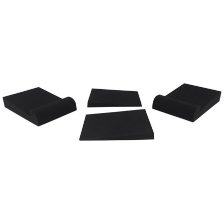 Pair Rockville RRS190S Foam Studio Monitor Isolation Pads 7.5 x 9.5/3 Angles