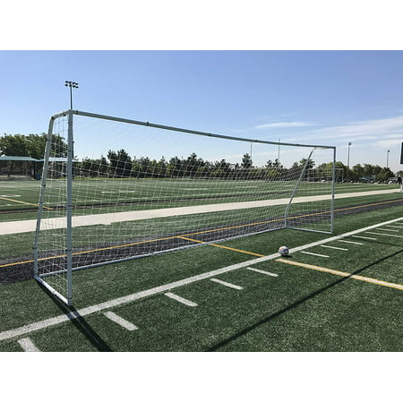 Ground Bar 1 Goal (PASS Premier® 21 X 7 FT. Youth Modified FIFA/EPL Steel Soccer Goal. 2