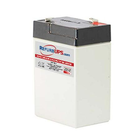 Yuasa NP4-6 Compatible Replacement Battery