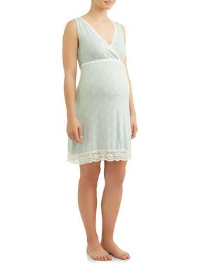 82d82504fa94 Product Image Maternity Nursing Full Coverage Sleep Chemise