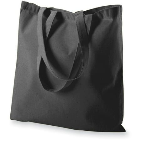 Augusta Sportswear Self-fabric Handles Budget Tote, Black, One Size