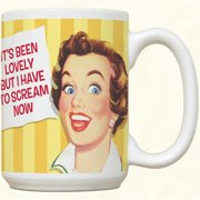 Fiddlers Elbow c51 Its Been Lovely Mug, Pack Of 2