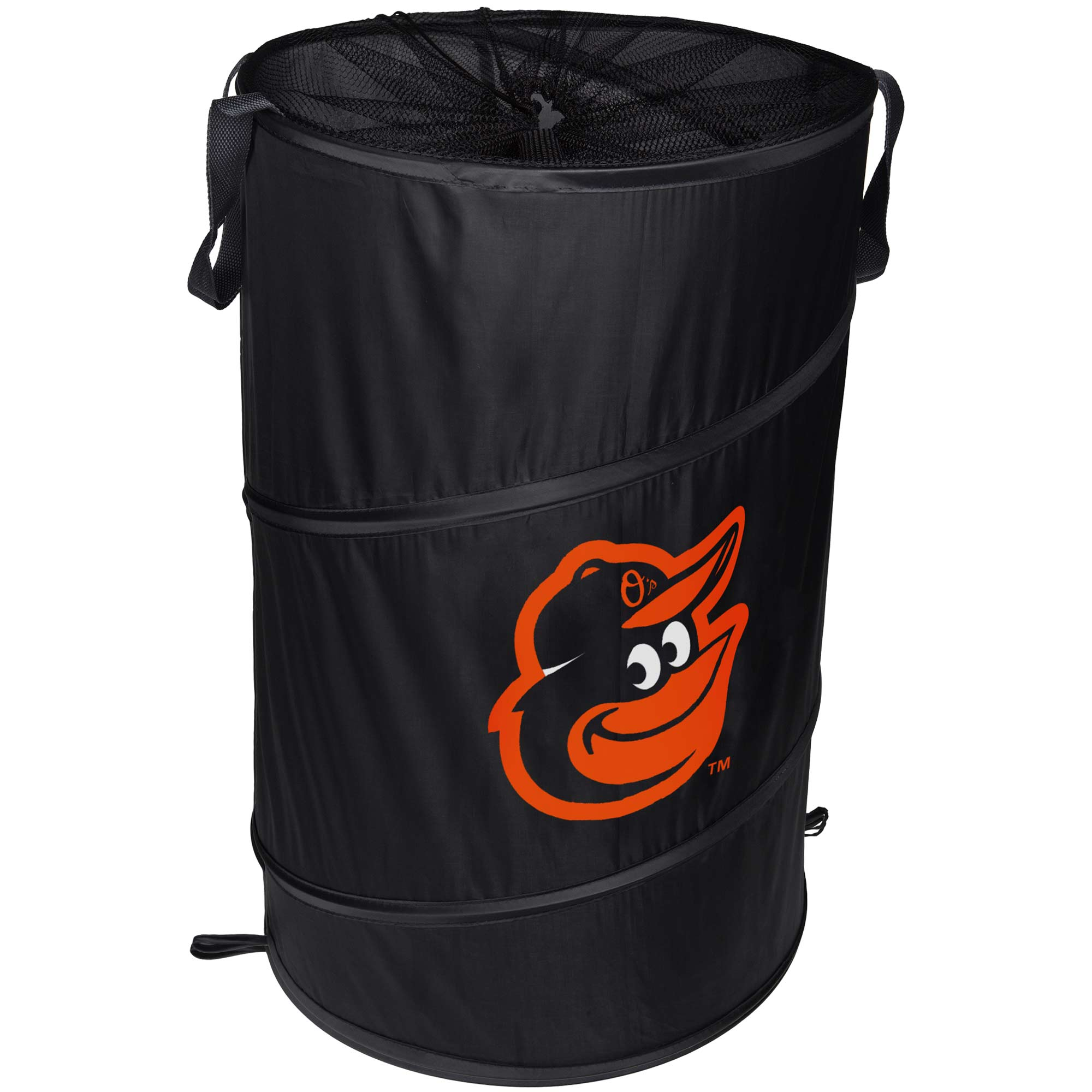 Baltimore Orioles Cylinder Pop Up Hamper - No Size