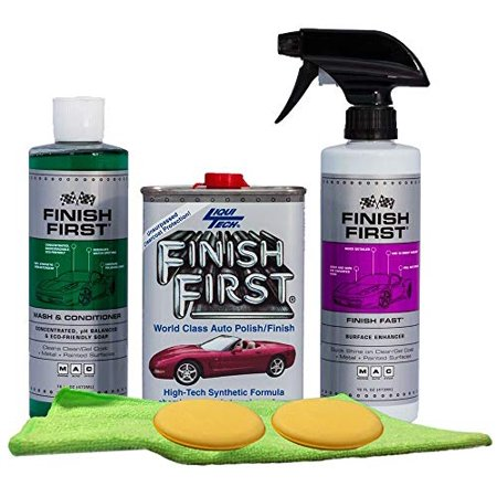 Finish First Wash & Wax Kit (Waxing For The First Time At Home)