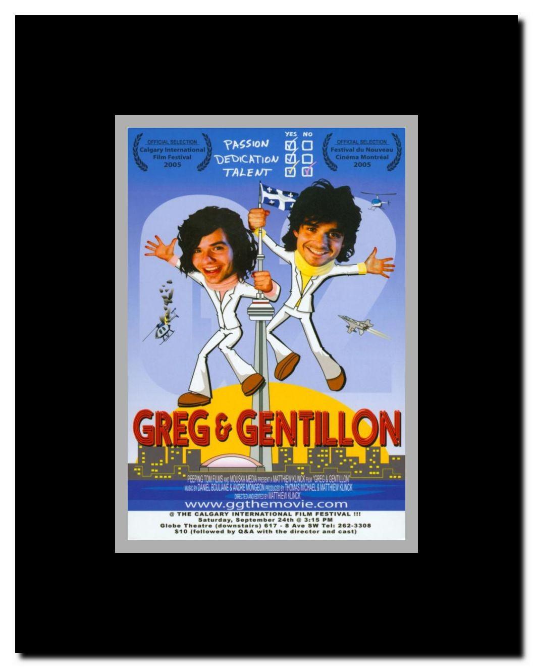 Greg & Gentillon Framed Movie Poster