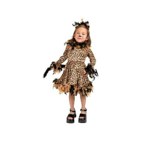 Toddler Leopard Cat Dress Costume - Leopard Dress Costume