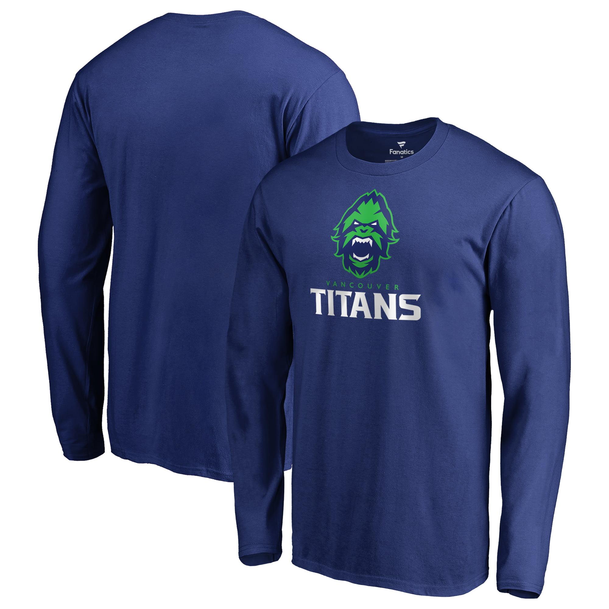 Vancouver Titans Fanatics Branded Team Identity Long Sleeve T-Shirt - Royal