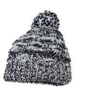 Magid Cable Knit Beanie Hat, with Pom