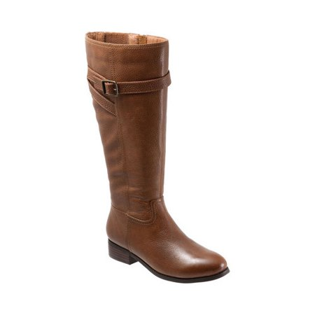 bac3bf57977 Trotters - Women s Trotters Lyra Wide Calf Boot - Walmart.com
